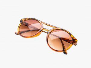 tiger print sunglasses